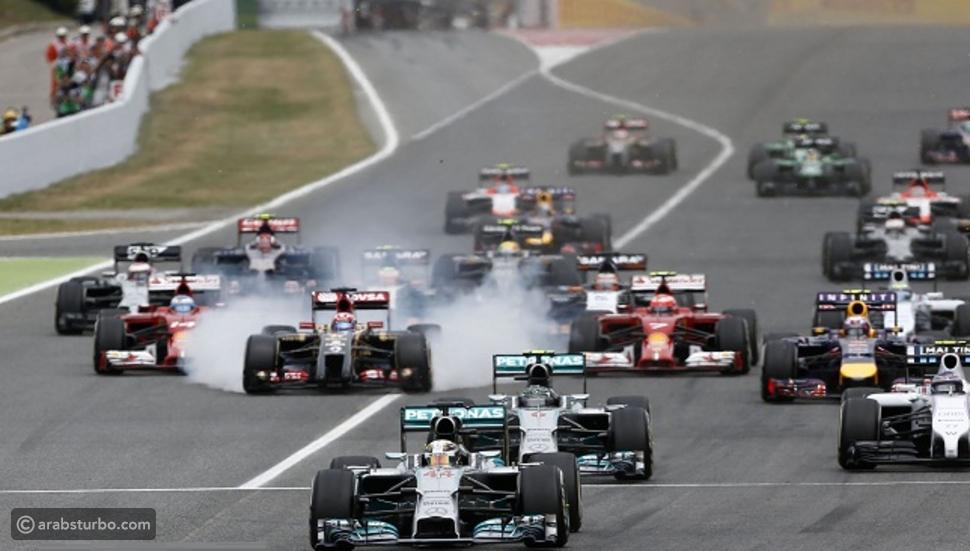 فورمولا 1: بوتاس ملك التجارب الحرة في جائزة أسبانيا