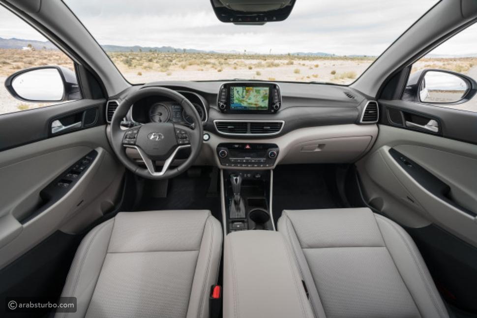 مواصفات سيارة  tucson 2019