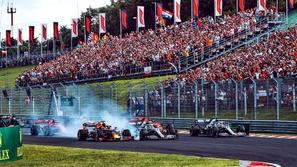 سباق فورمولا1 يقام في المجر بهذه الطريقة