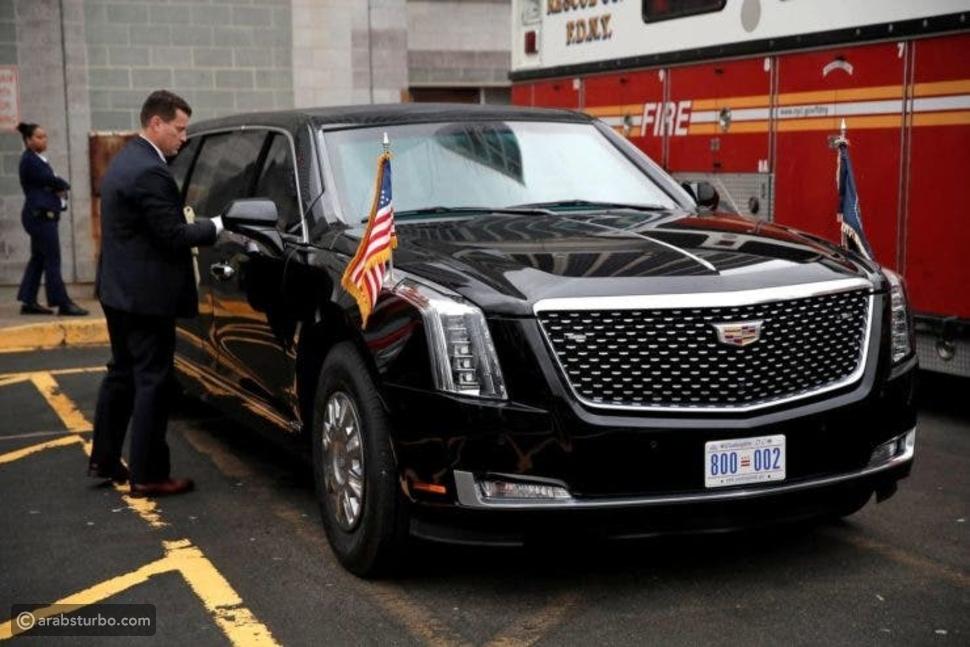 """""""الوحش"""" سيارة بايدن رئيس أمريكا الجديد بتأمينات خارقة"""