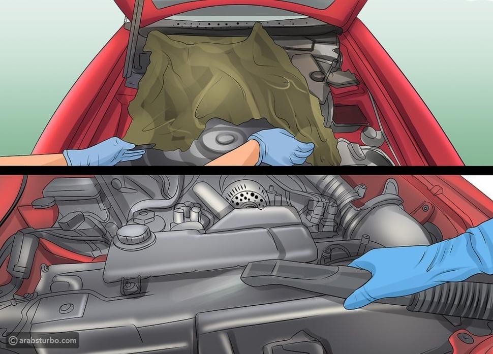 الطريقة المثالية لتنظيف محرك السيارة دون مشاكل