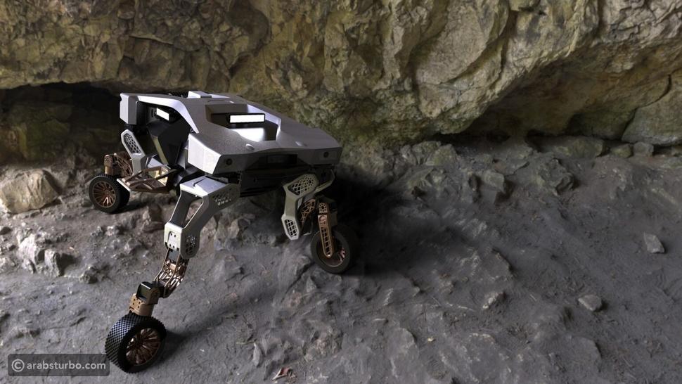 هيونداي تايجر مركبة ذاتية بأرجل آلية
