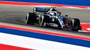 فورمولا 1: بوتاس ينطلق أولاً في سباق الولايات المتحدة