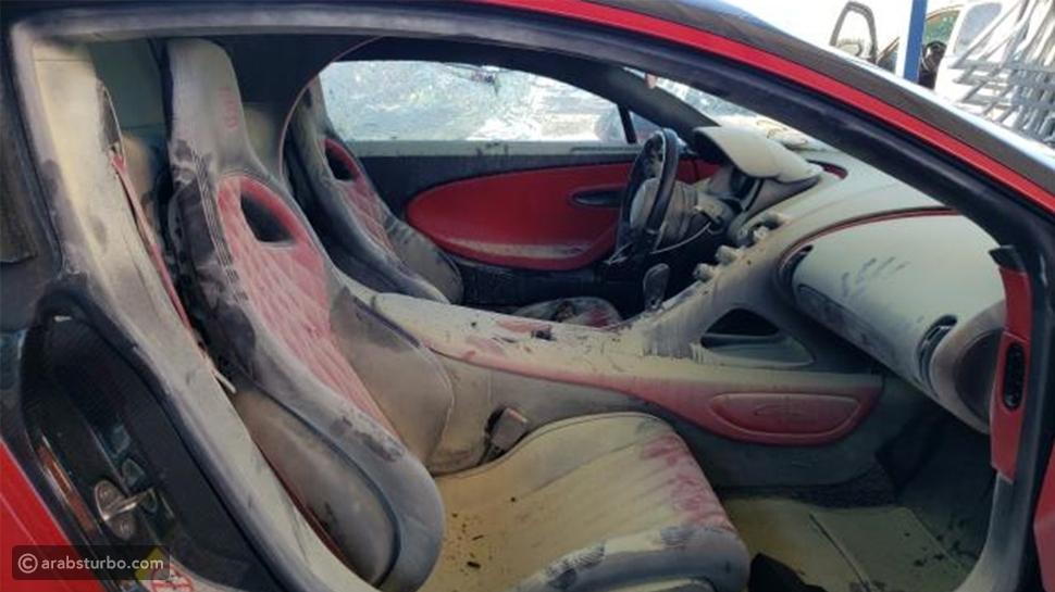 سيارة بوغاتي محروقة ذات الـ 3 مليون تُباع في مزاد بـ 345 ألف دولار