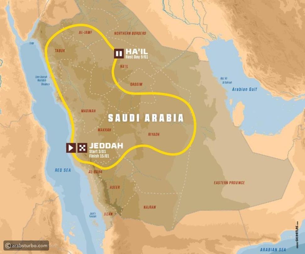 المتسابق سعيد الموري يؤكد مشاركته في رالي داكار السعودية 2021