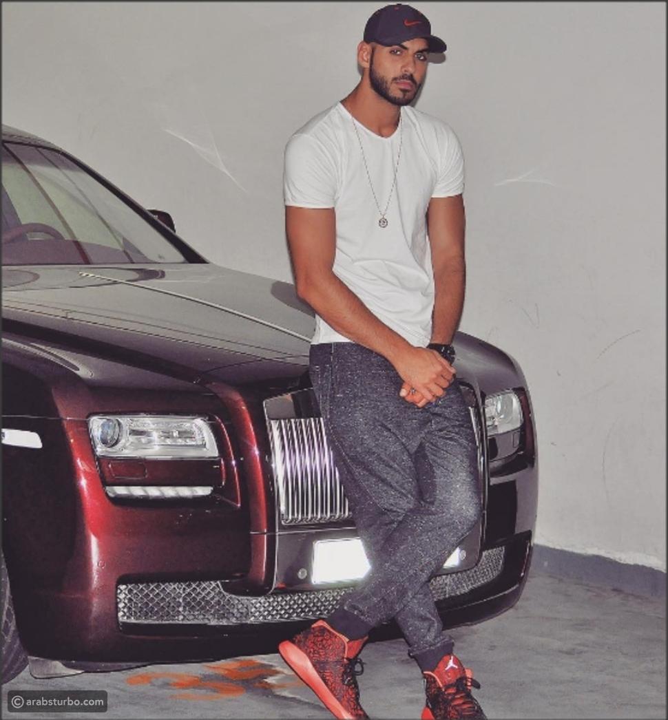 صورة السيارة الجديدة لوسيم الإمارات عمر بركان الغلا