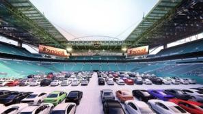 سينما عملاقة تتسع لـ230 سيارة في أمريكا