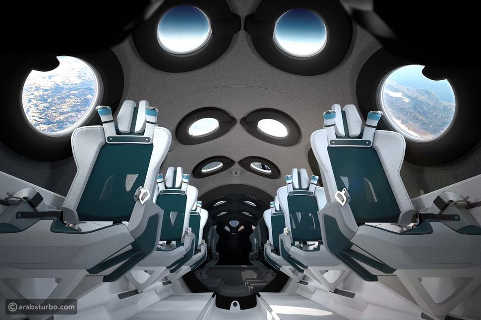 رحلة فاخرة إلى الفضاء من فيرجن غالاكتيك