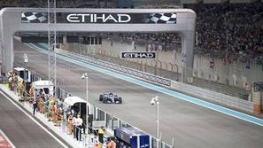 فورمولا 1: ترتيب التجارب الحرة الثانية لسباق أبوظبي