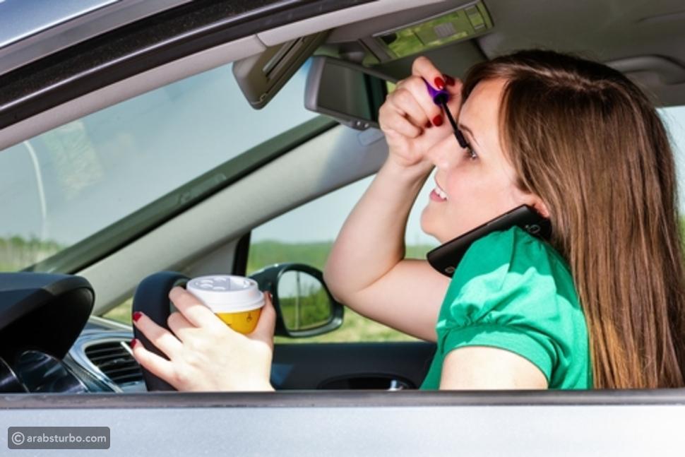 50% من النساء يرتكبن هذا الخطأ القاتل أثناء القيادة!