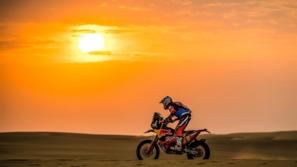 رالي داكار 2020: ساندرلاند يقتنص صدارة فئة الدراجات