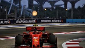 فورمولا 1: توقيت التجارب الحرة الثالثة لجائزة سنغافورة