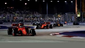 فورمولا 1: النتيجة النهائية لسباق سنغافورة