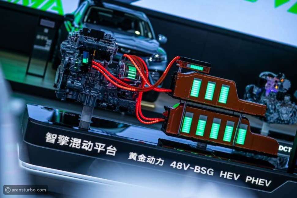 محرك جيلي يفوز بأعلى وسام في صناعة السيارات بالصين