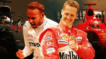 استفتاء: هل أصبح هاميلتون أفضل من شوماخر في عالم فورمولا1؟