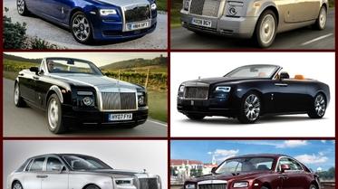 استفتاء: أي موديل من سيارات رولز رويس الفارهة تحب؟ رفاهية فائقة
