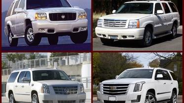 استفتاء: أي موديل من سيارات كاديلاك اسكاليد تحب أكثر؟