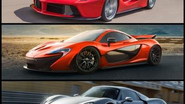 أي من هذه السيارات السوبر رياضية الهجينة تفضل؟