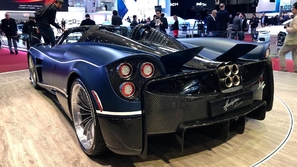 باغاني هويرا.. تزلزل معرض جنيف الدولي للسيارات