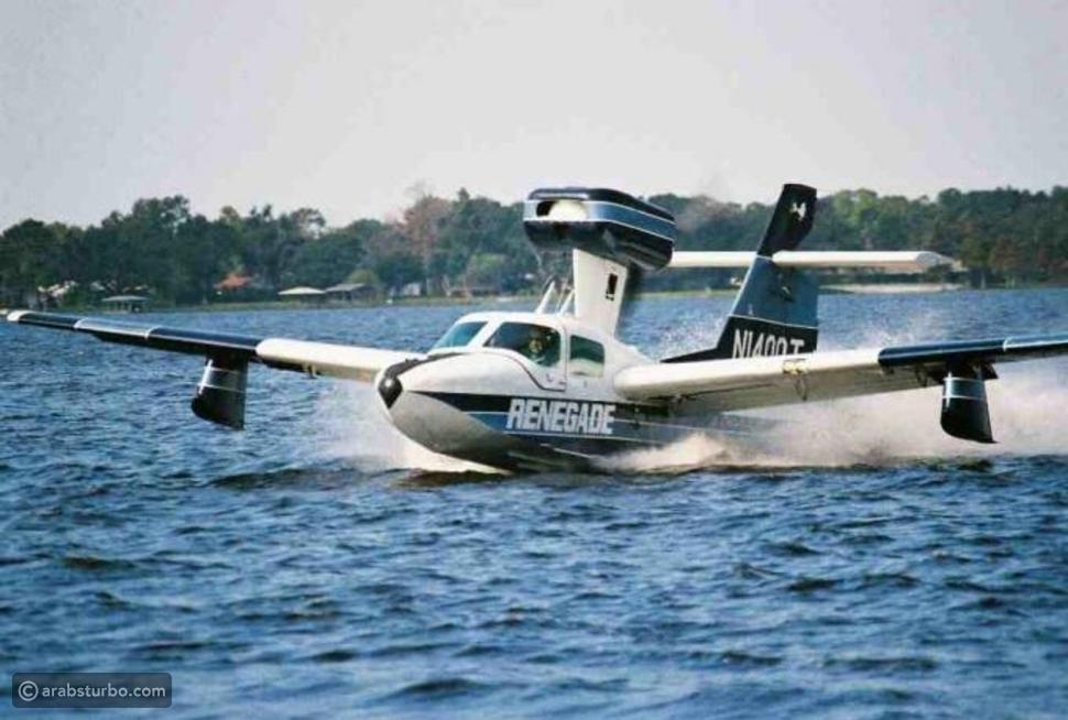 فيديو: أكبر وأسرع طائرة تسير على الماء.. وفي البر أيضاً