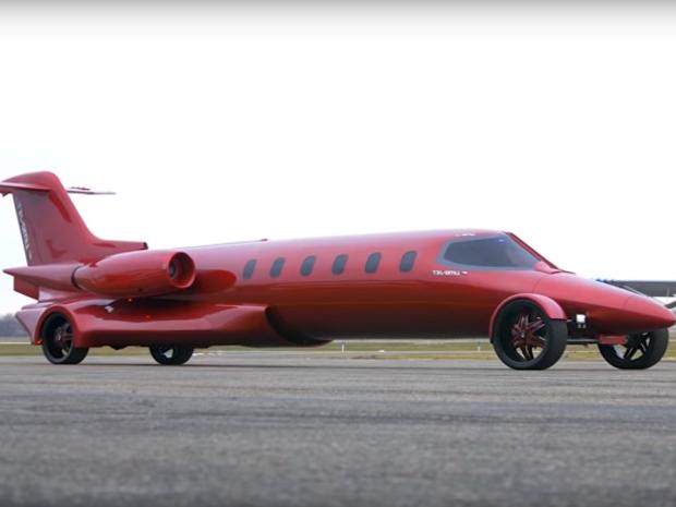 تحويل طائرة ركاب صغيرة إلى سيارة ليموزين فاخرة