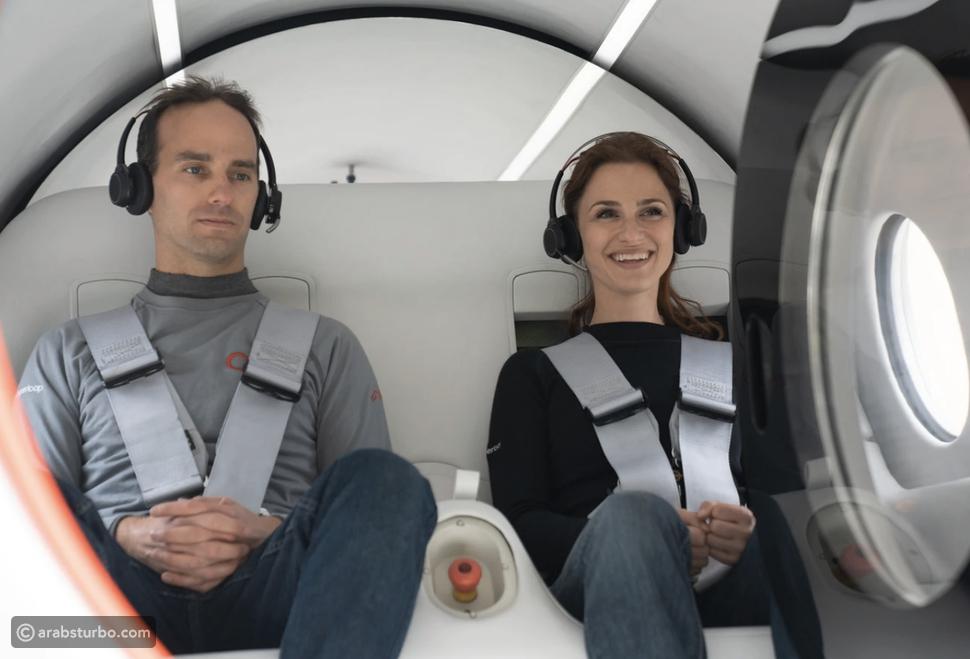 نجاح أول تجربة نقل ركاب عبر الهايبرلوب فائق السرعة