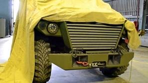 اكتشف بالفيديو الأسرار العسكرية.. سيارة مدرعة روسية