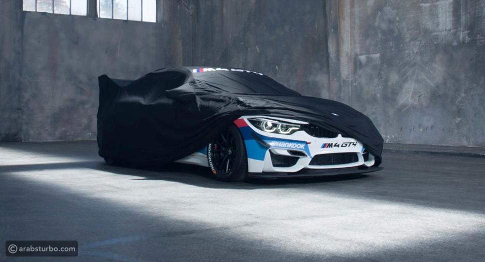 فيديو تشويقي لسيارة بي إم دبليو M4 GT4 التي ستظهر خلال أيام