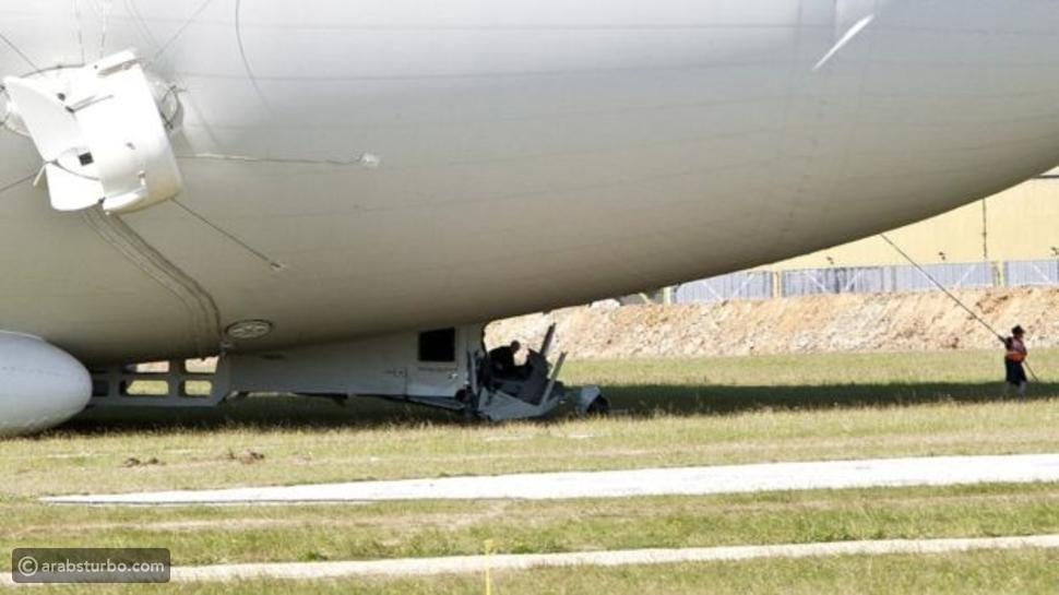 فيديو هبوط فاشل لأكبر طائرة في العالم