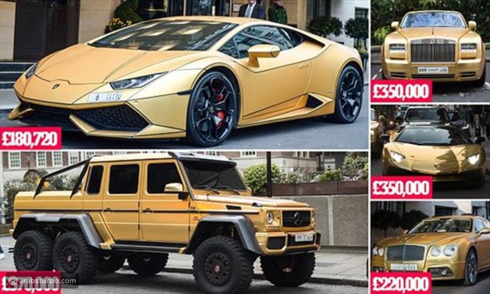 فيديو الثري السعودي يروي محاولة لص إشعال النار في سيارته الذهبية