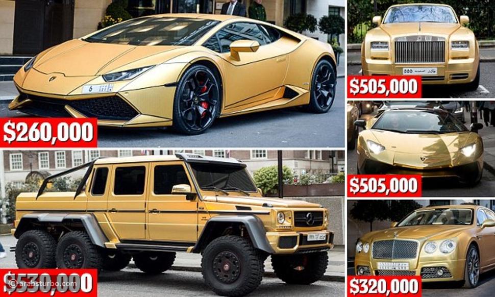 فيديو جديد لسيارات الثري السعودي التي تحدث عنها الجميع في لندن