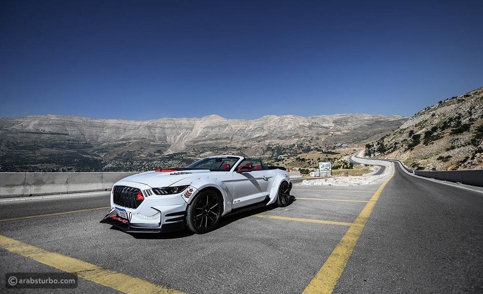 موستانغ لبنانية.. تعديلات مذهلة على السيارة الأسطورية