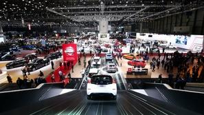 بالفيديو.. افتتاح معرض جنيف الدولي للسيارات