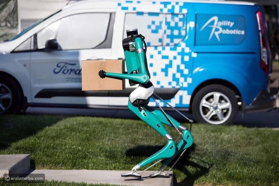 بالفيديو.. فورد تختبر روبوت مخصص لهذه المهمة