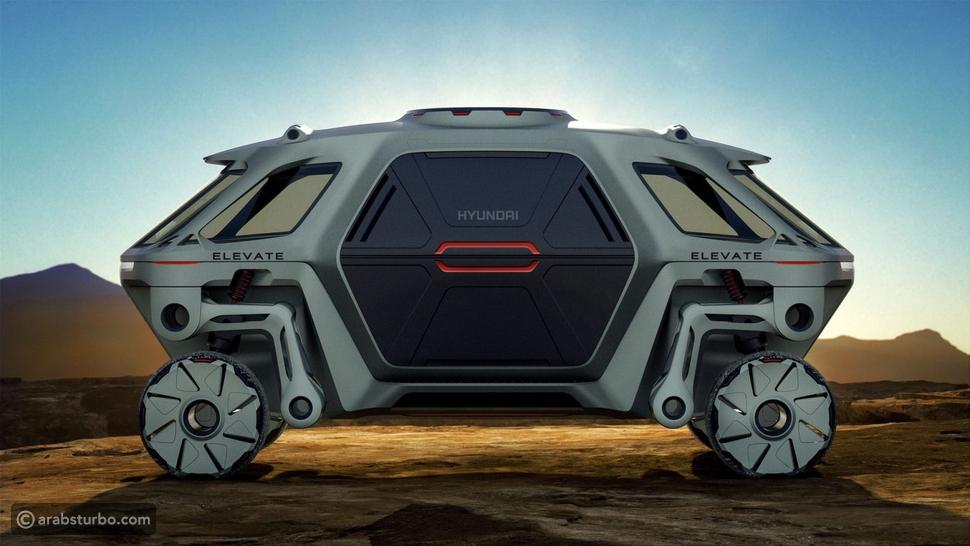 هيونداي تطور سيارة بأذرع روبوت آلي