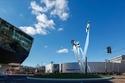 بالصور: بورش تميط اللثام عن تصميم تمثال 911 الجديد
