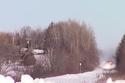 2- قطار يشق طريقه عبر الثلوج بمشهد يخطف الأنفاس