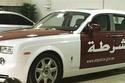 «شرطة أبوظبي» تضم إلى أسطولها أفخم سيارة شرطة في العالم