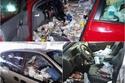صور 11 سيارة حولها أصحابها إلى حاويات قمامة بأربعة عجلات