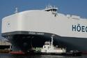 السفينة Hoegh Target أكبر ناقلة سيارات في العالم