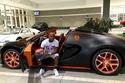 صورة سيارة لاعب البوكس العالمي فلويد مايويزر