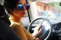 صورة: ابتسام تسكت تتألق بإطلالة رائعة لها من داخل سيارتها