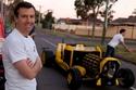 فيديو وصور: سيارة بحجم حقيقي من الليغو وتعمل بالهواء