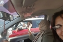 معجبة تشعل مواقع التواصل بصور لها مع أحمد حلمي داخل السيارة