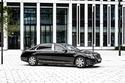 صور مرسيدس مايباخ اس600 المصفحة تصبح أأمن سيارة في العالم