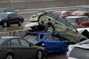 شاهد بالصور كيف يكون الحادث عندما تشترك به 104 سيارات