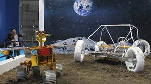 صور: أول سيارة فضاء صينية لإرسال البشر إلى القمر