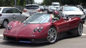 تجمع أسطوري لسيارات باغاني في مصنعها في ايطاليا (صور وفيديو)